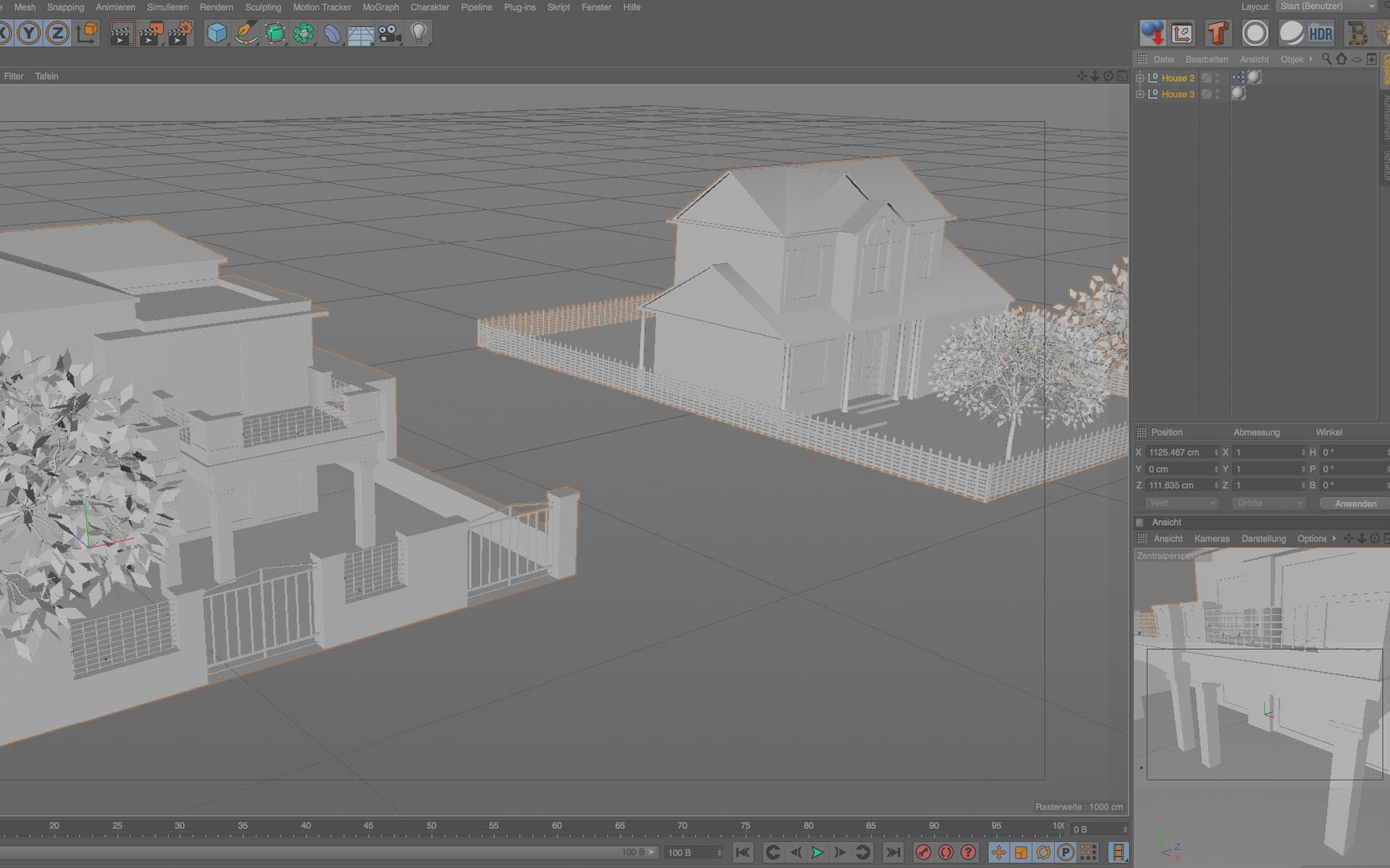 3D Visualisierung und Animation als Bild und Film