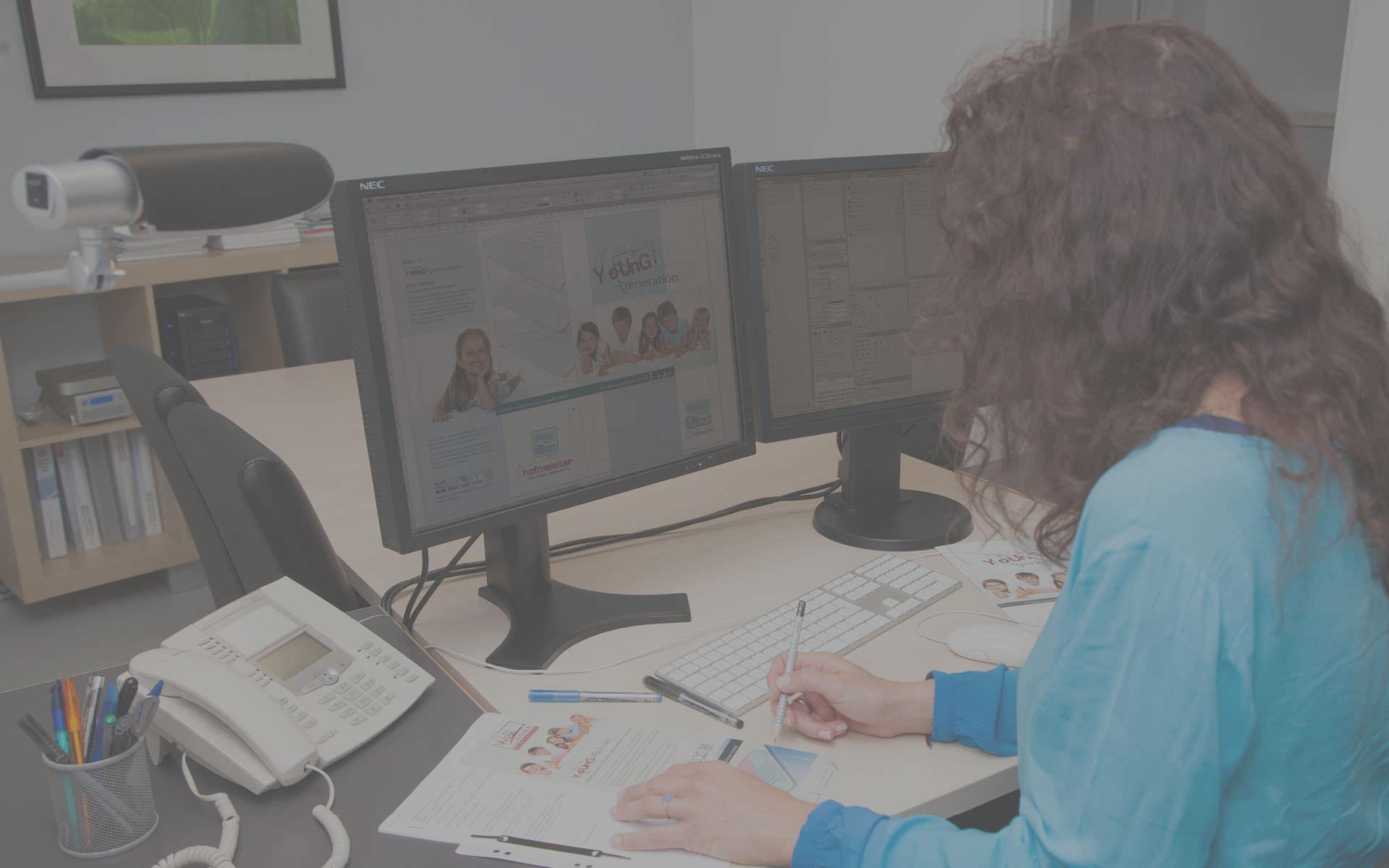 Grafik – Konzept und Design für Print und Online